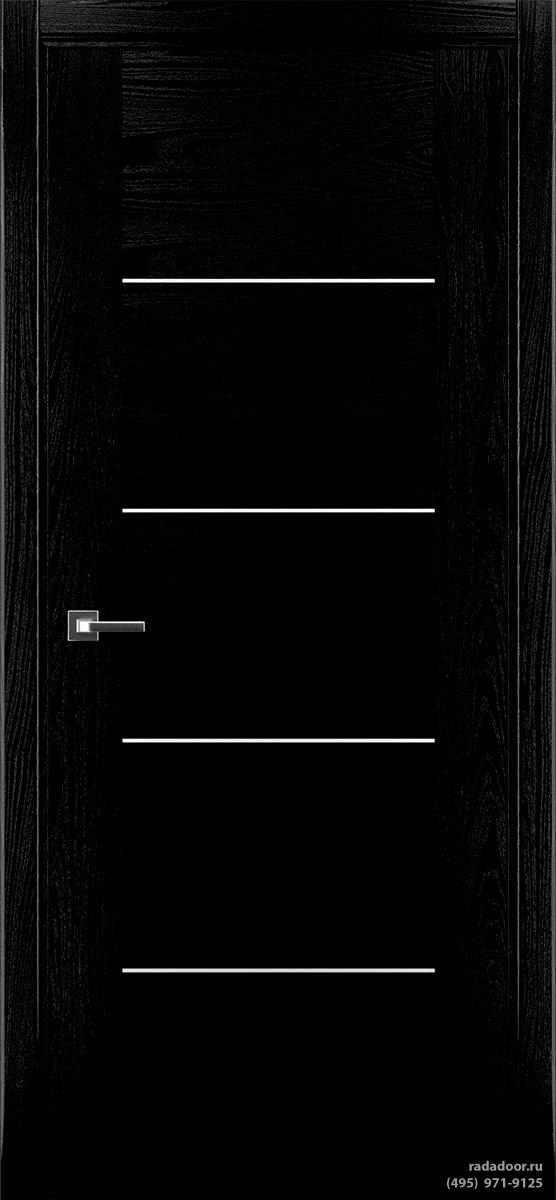 Дверь Рада Bruno ДГ-1 (черная эмаль)