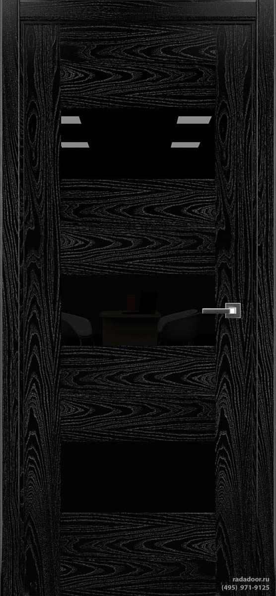 Дверь Рада Polo ДО-1, исп. 2 (noir)